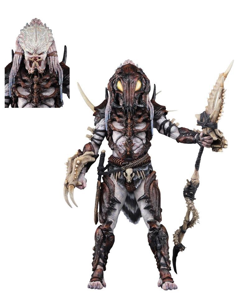 Predator Ultimate Alpha Predator 7-Inch Scale 100th Action Figure (Pre-Order) - toysintheattic.co.uk
