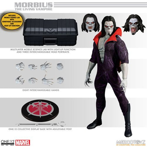 Morbius The Living Vampire One:12 Collective Action Figure (Pre-Order)
