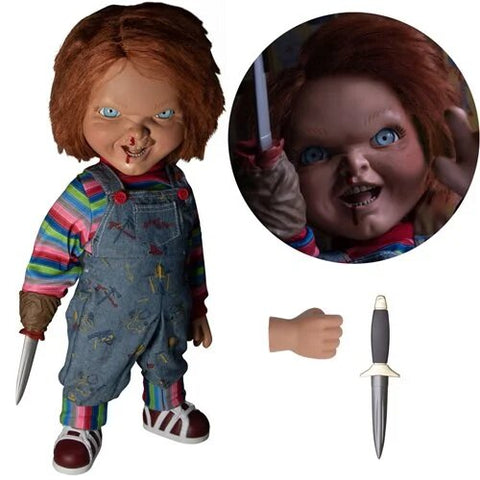 Child's Play Menacing Chucky Talking Mega-Scale 15-Inch Doll (Pre-Order)