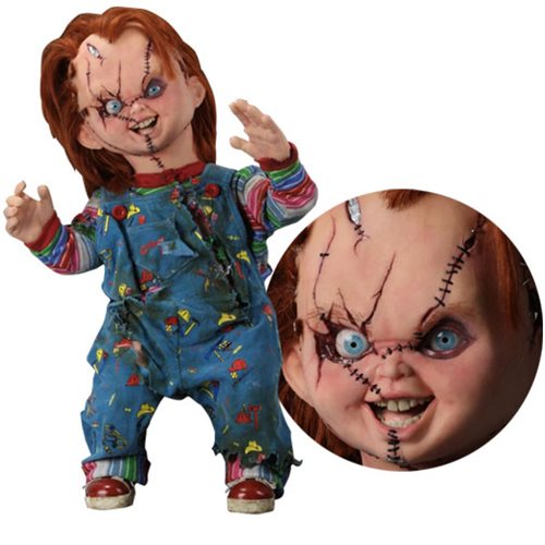 Child's Play Bride of Chucky Chucky Life-Size 1:1 Scale Neca Replica (Pre-Order) - toysintheattic.co.uk