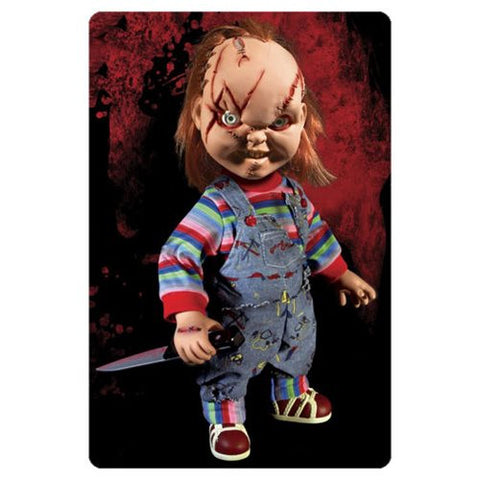 Child's Play Chucky Talking Mega Scarred Scale 15 - Inch Doll