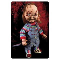 Child's Play Chucky Talking Mega Scarred Scale 15 - Inch Doll - toysintheattic.co.uk
