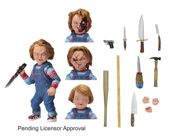Child S Play Ultimate Chucky Neca Action Figure