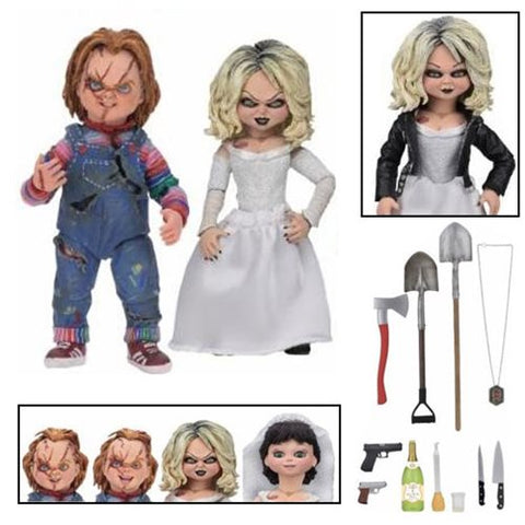 Childs Play Ultimate Chucky and Tiffany 7-Inch Scale Action Figure 2-Pack (Pre-Order)