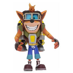Crash Bandicoot Deluxe Crash with Jetpack Action Figure (Pre-Order) - toysintheattic.co.uk