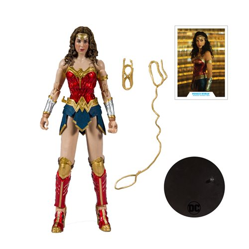 DC Comics Wave 2 Wonder Woman 1984 7-Inch Action Figure (Pre-Order) - toysintheattic.co.uk