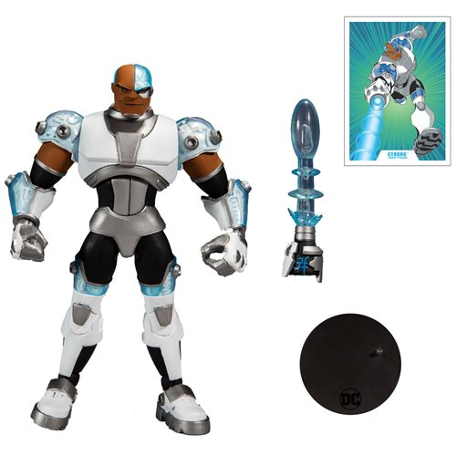 DC Multiverse Animated Wave 2 Animated Cyborg 7-Inch Action Figure (Pre-Order)
