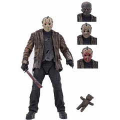 Freddy vs. Jason Ultimate Jason Voorhees 7-Inch Scale Neca Action Figure (Pre-Order) - toysintheattic.co.uk