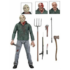 Friday the 13th Part 3 Jason Ultimate 7-Inch Action figure - toysintheattic.co.uk