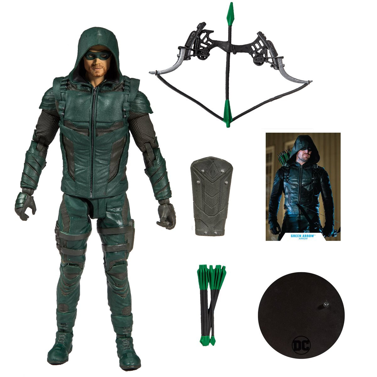 Green Arrow TV Series 7-Inch Action Figure Mcfarlane DC Comics Wave 1