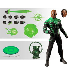Mezco One : 12 Collective Green Lantern John Stewart Action Figure (Pre-Order) - toysintheattic.co.uk