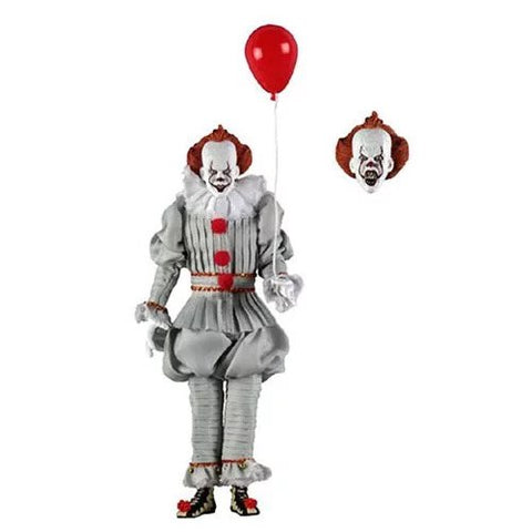 IT 2017 Pennywise 8-Inch Clothed Neca Action Figure