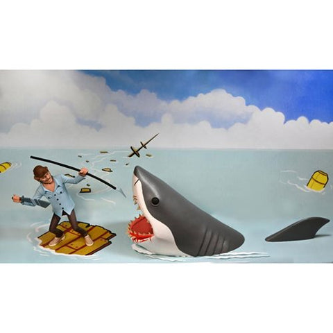 Jaws Toony Terrors Jaws and Quint 6-Inch Scale Action Figure 2-Pack (Pre-Order)