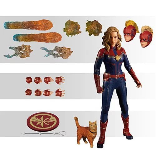 Mezco One : 12 Collective Captain Marvel Movie Action Figure (Pre-Order) - toysintheattic.co.uk