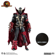 Mortal Kombat Series 2 Spawn 7-Inch Action Figure (Pre-Order) - toysintheattic.co.uk