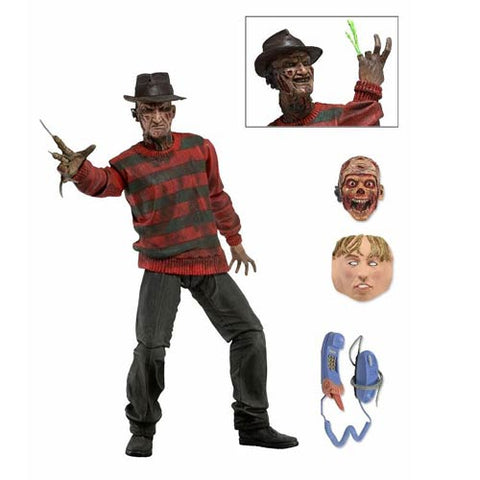A Nightmare on Elm Street Ultimate Freddy 30th Anniversary Action Figure