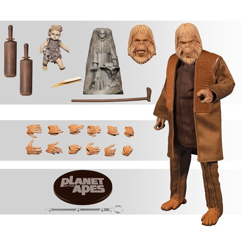Mezco One : 12 Collective Planet of the Apes (1968): Dr. Zaius (Pre-Order) - toysintheattic.co.uk