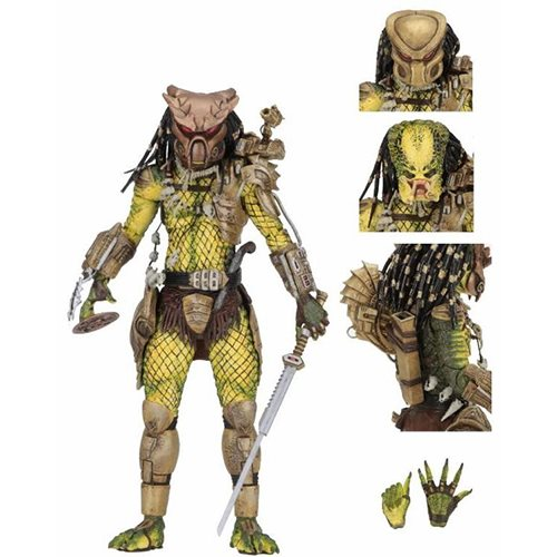 Predator Ultimate Golden Angel 7-Inch Scale Action Figure - toysintheattic.co.uk