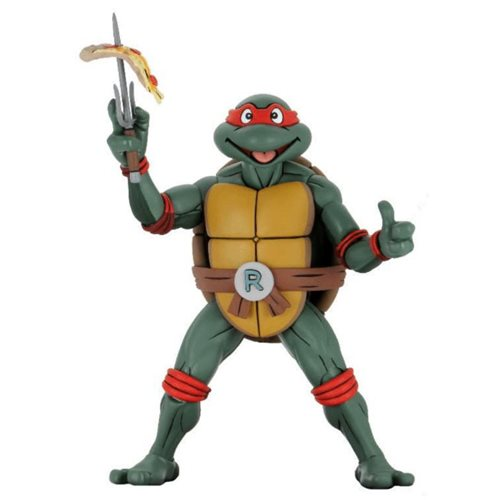 Teenage Mutant Ninja Turtles Raphael Cartoon Ver. 1:4 Scale Action Figure (Pre-Order) - toysintheattic.co.uk