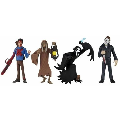 Toony Terrors Series 5 6-Inch Scale Action Figure Set of 4 (Pre-order)