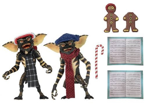 Gremlins Christmas Carol Winter Scene 7-Inch Scale Action Figure 2-Pack Set 1 (Pre-Order) - toysintheattic.co.uk