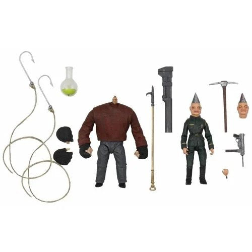 Puppet Master Ultimate Pinhead and Tunneler 7-Inch Scale Action Figure 2-Pack (Pre-Order)