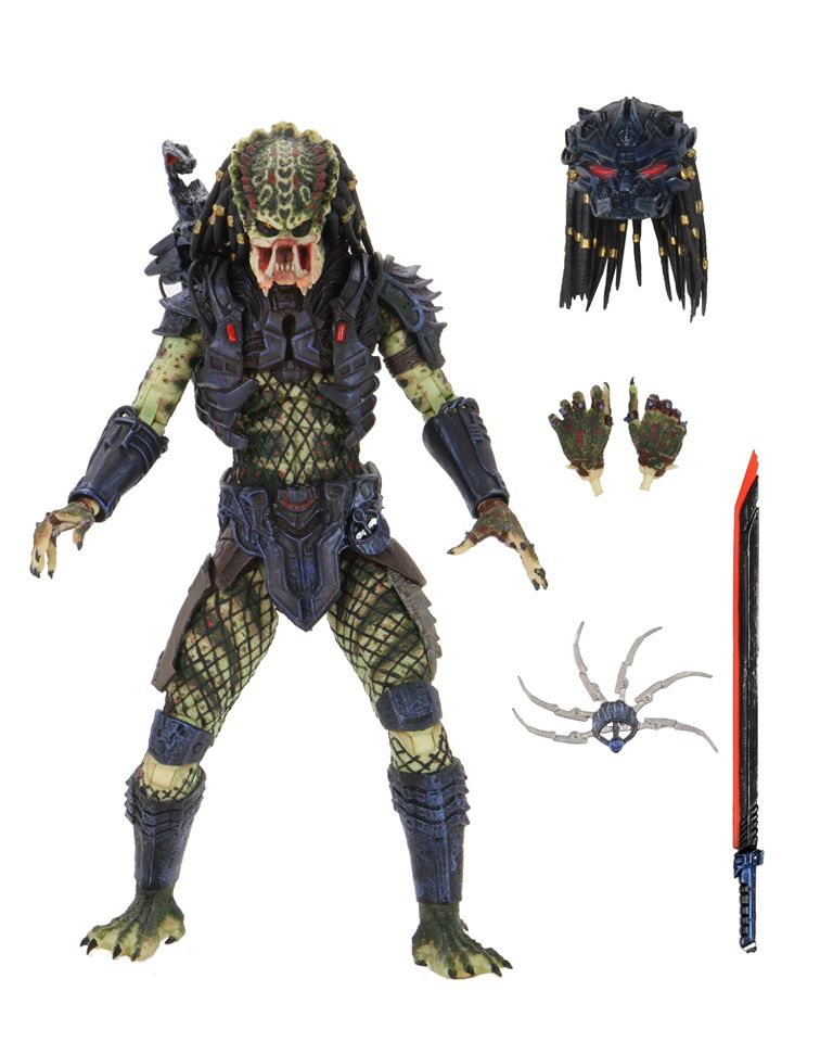 "Predator 2 – 7"" Scale Action Figure – Ultimate Armored Lost Predator (Pre-Order) - toysintheattic.co.uk"