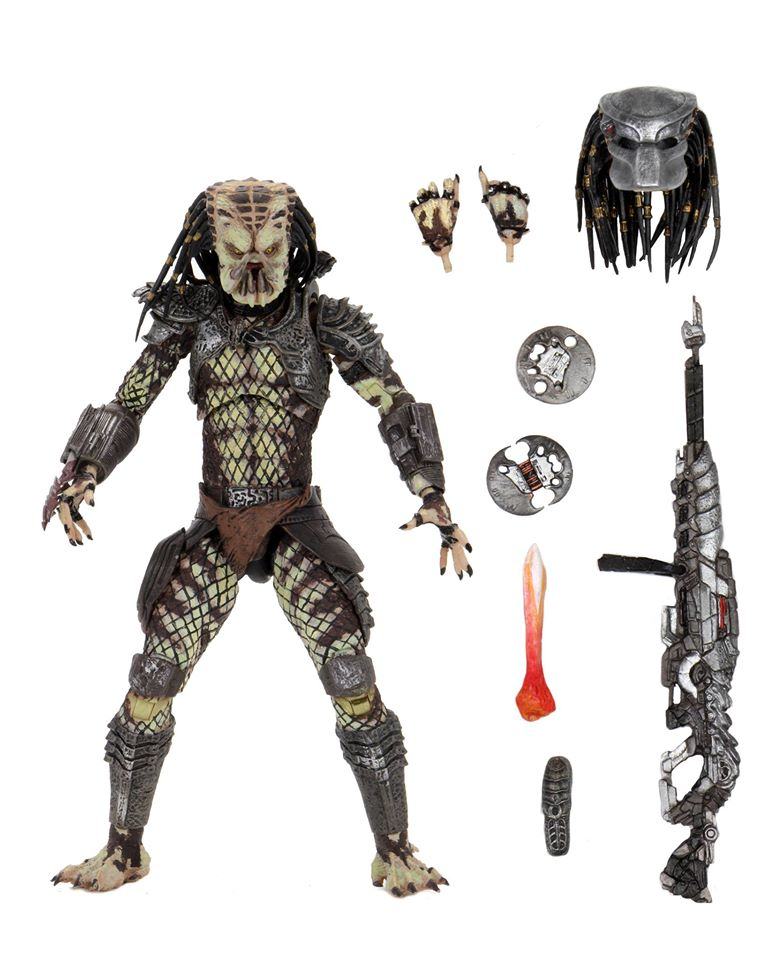 "Predator 2 – 7"" Scale Action Figure – Ultimate Scout Predator (Pre-Order) - toysintheattic.co.uk"