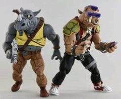 Teenage Mutant Ninja Turtles - TMNT Cartoon Series 2 - RockSteady and Bebop (pre-order) - toysintheattic.co.uk