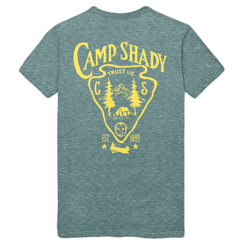 Limited Release: Camp Shady T-shirt in Green