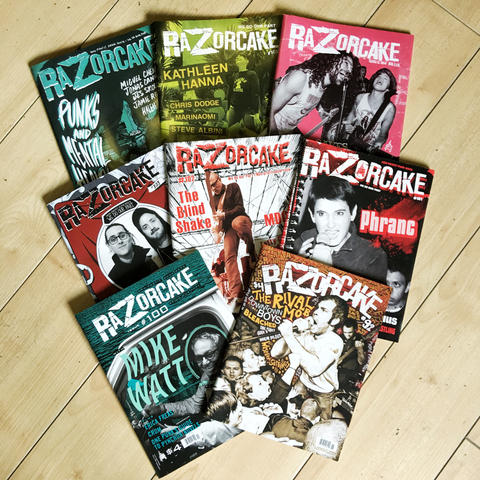 8 Issues of Razorcake for $15 (free shipping)