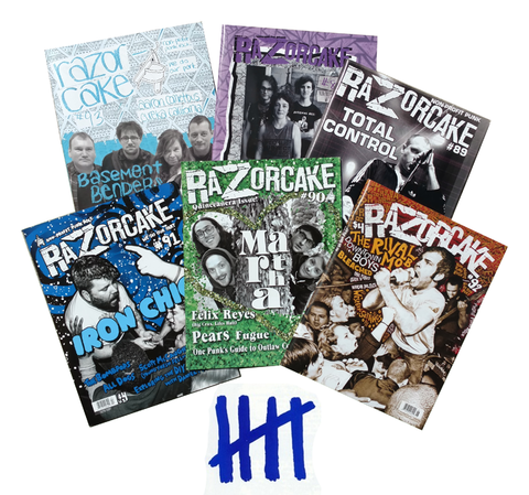 F.Y.S -- Five Year Subscription to Razorcake