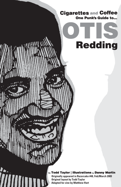 One Punk's Guide to Otis Redding, by Todd Taylor