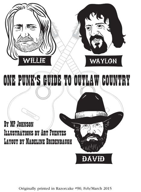 One Punk's Guide to Outlaw Country, by MP Johnson