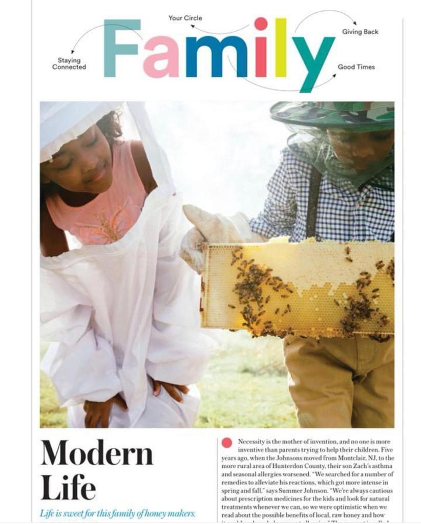 Modern Life: Life Is Sweet for This Family of Honey Makers