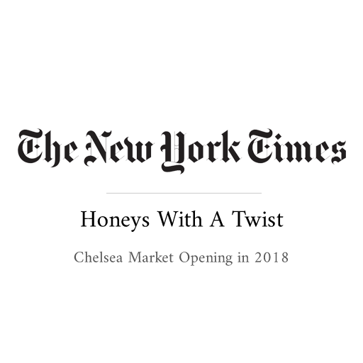 Zach&Zoë - The New York Times - Honeys With a Twist - Beet and matcha are two of the unusual raw honey flavors at a new stand in the Chelsea Market.