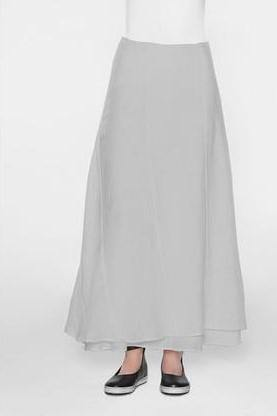 SARAH PACINI LINEN BIAS CUT MAXI SKIRT - Lizardfashion