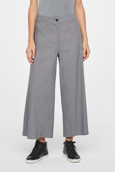 SARAH PACINI WIDE LEG LINEN TROUSERS Ref. 191471 - Lizardfashion