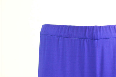 1 ONE COLLECTION ROYAL BLUE WIDE FULL LENGTH TROUSERS Z0153-0103 - Lizardfashion
