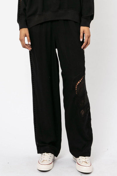 RELIGION DUNE TROUSERS WITH CROCHET DETAIL 50IDEP25