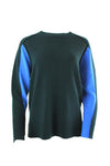 BEATRICE B CREW NECK LONG SLEEVE BACK SWEATER 20FA8928