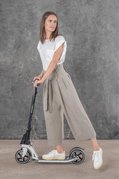 LUIS LINEN CROPPED TROUSERS SL21830