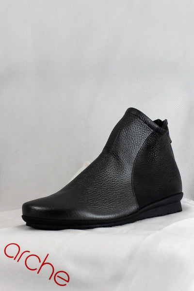 ARCHE TWO TONED TEXTURED ANKLE BOOTS BARYKY