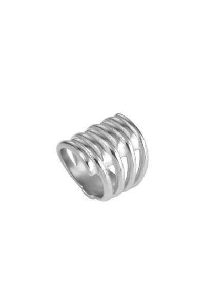 UNO DE 50 RING ' TORNADO ' ANI0302MTL000 - Lizardfashion