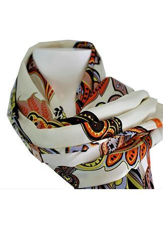 1 ONE COLLECTION PRINTED SCARF Z0162-0122