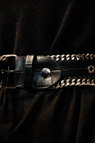 RELIGION CHAIN DETAIL BELT WFHLVA23