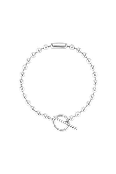 UNO DE 50 NECKLACE 'ON/OFF' SILVER PLATED COL1462MTL0000U