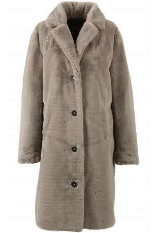 OAKWOOD FAUX FUR COAT 63053