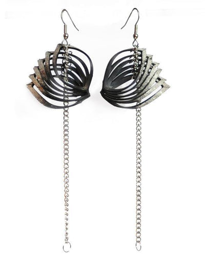 Oyster Earrings - Lizardfashion