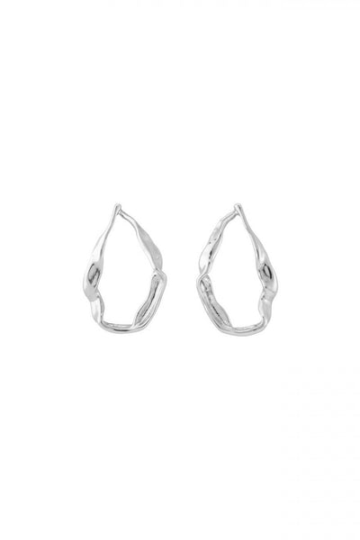 UNODE50 EARRINGS CANDLE FLAME SHAPE  PEN0627MTL0000U